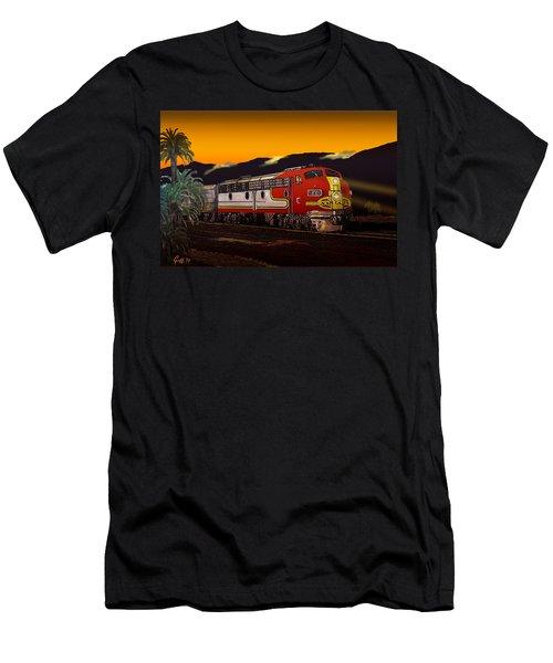 Desert Palms Men's T-Shirt (Athletic Fit)