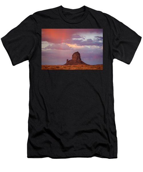 Desert Rainbow Men's T-Shirt (Athletic Fit)