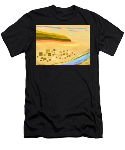 Desert River Men's T-Shirt (Athletic Fit)