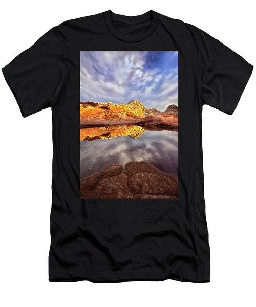 Desert Rock Drama Men's T-Shirt (Athletic Fit)