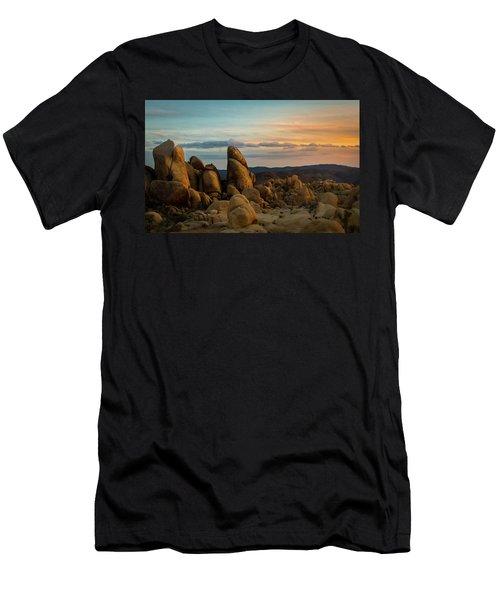 Desert Rocks Men's T-Shirt (Athletic Fit)
