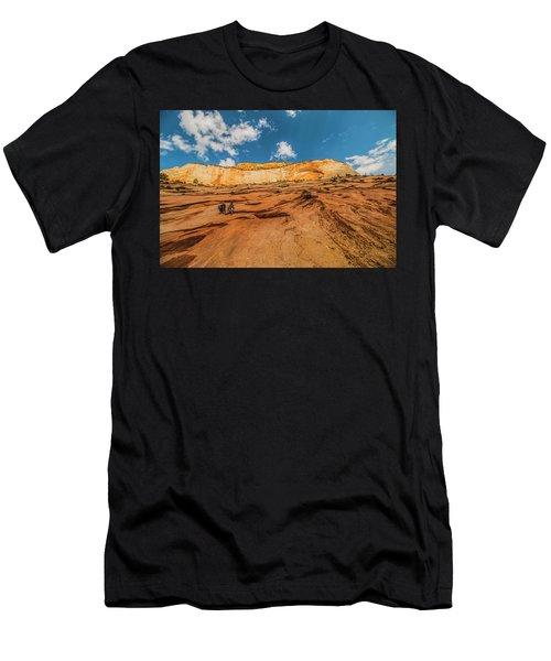 Desert Solitaire With A Friend Men's T-Shirt (Athletic Fit)