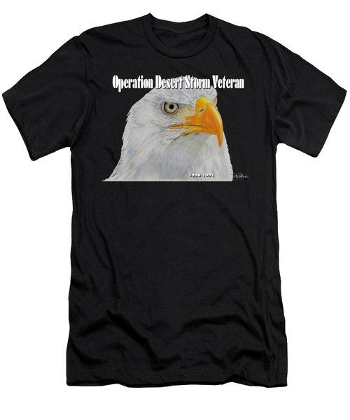 Desert Storm Eagle Men's T-Shirt (Athletic Fit)