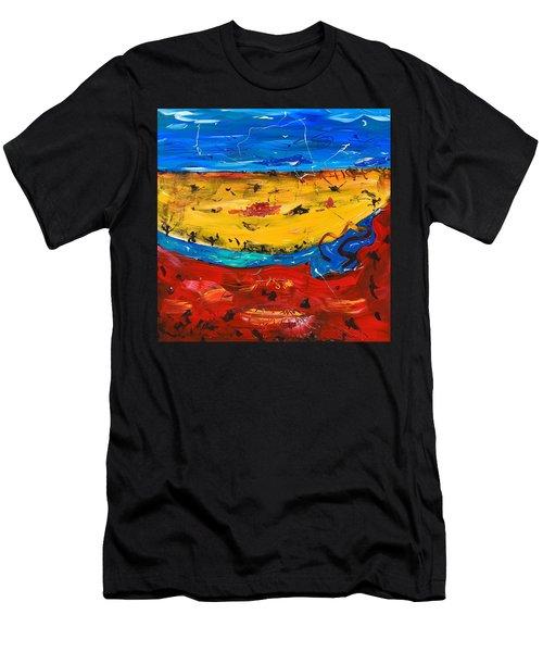 Desert Stream Men's T-Shirt (Athletic Fit)