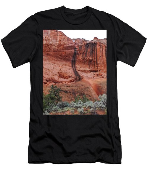 Desert Varnish Along Burr Trail Men's T-Shirt (Athletic Fit)