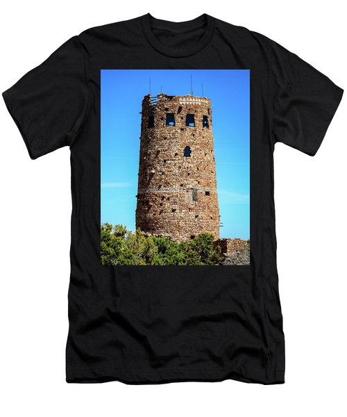 Desert View Watchtower At The Grand Canyon Men's T-Shirt (Athletic Fit)