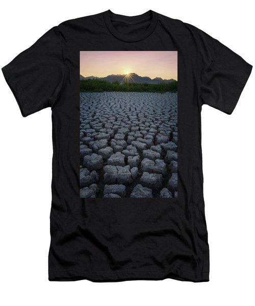 Men's T-Shirt (Athletic Fit) featuring the photograph Desert West by Dustin LeFevre