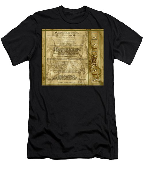 Desiderata #8 Men's T-Shirt (Athletic Fit)