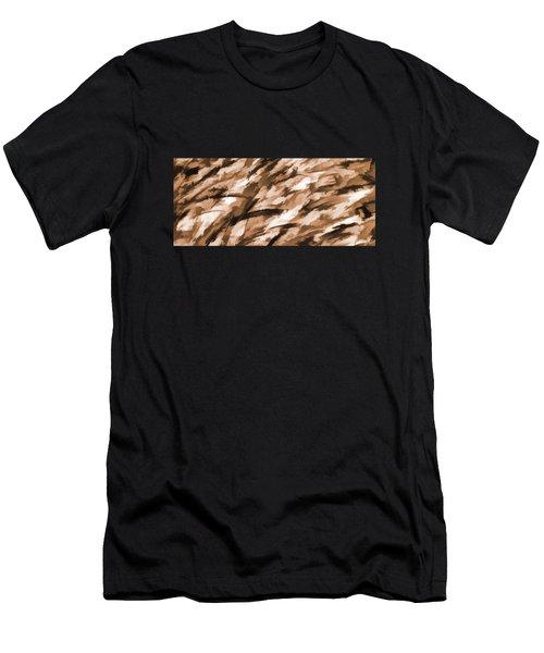 Designer Camo In Beige Men's T-Shirt (Athletic Fit)