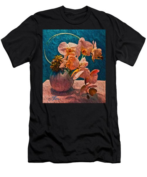 Designer Floral Arrangement Men's T-Shirt (Athletic Fit)