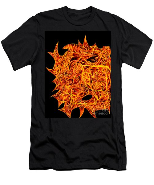 Men's T-Shirt (Slim Fit) featuring the drawing Desire Flair by Jamie Lynn