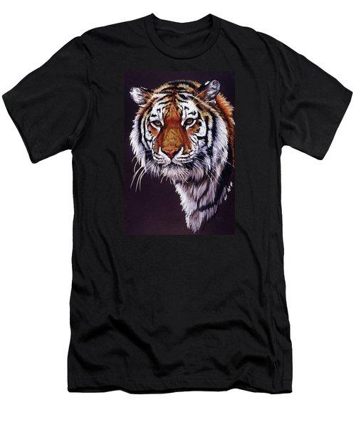 Men's T-Shirt (Slim Fit) featuring the drawing Desperado by Barbara Keith