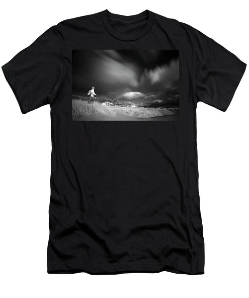 Men's T-Shirt (Slim Fit) featuring the photograph Destination by William Lee