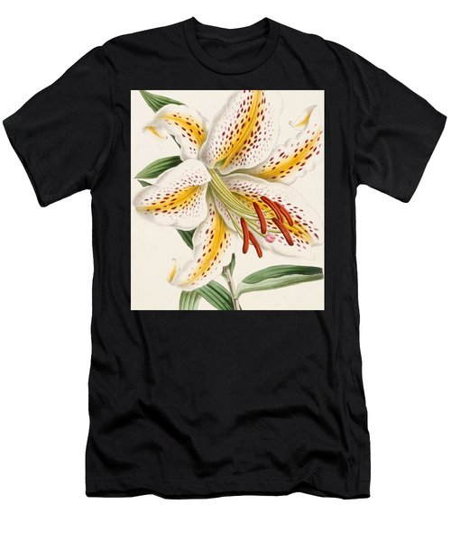 Detail Of A Lily Men's T-Shirt (Athletic Fit)