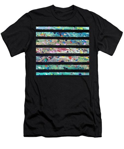 Detail Of Agoraphobia 2 Men's T-Shirt (Athletic Fit)
