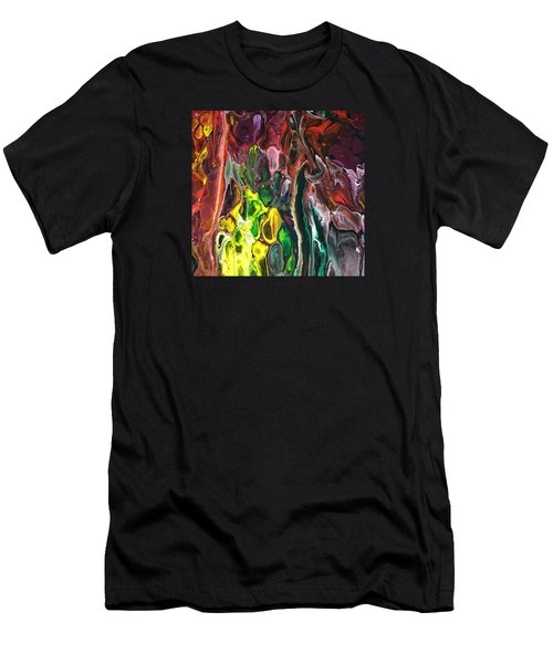 Detail Of Auto Body Paint Technician  Men's T-Shirt (Athletic Fit)