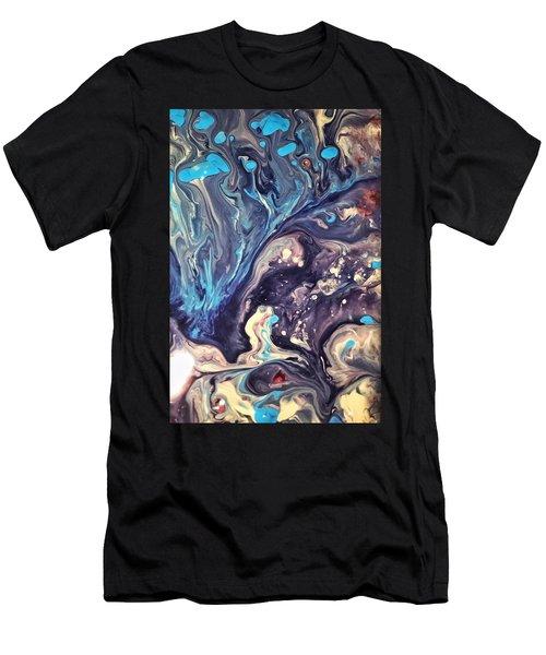 Detail Of Fluid Painting 2 Men's T-Shirt (Athletic Fit)