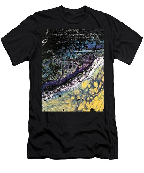 Detail Of He Likes Space 2 Men's T-Shirt (Athletic Fit)