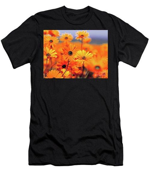 Details In Orange Men's T-Shirt (Athletic Fit)