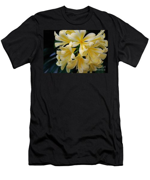 Details In Yellow And White Men's T-Shirt (Slim Fit) by John S