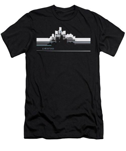 Detroit Lines 1 Men's T-Shirt (Athletic Fit)