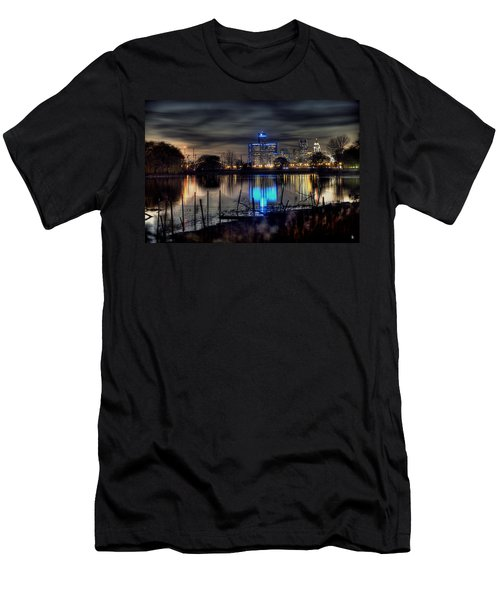 Detroit Reflections Men's T-Shirt (Athletic Fit)