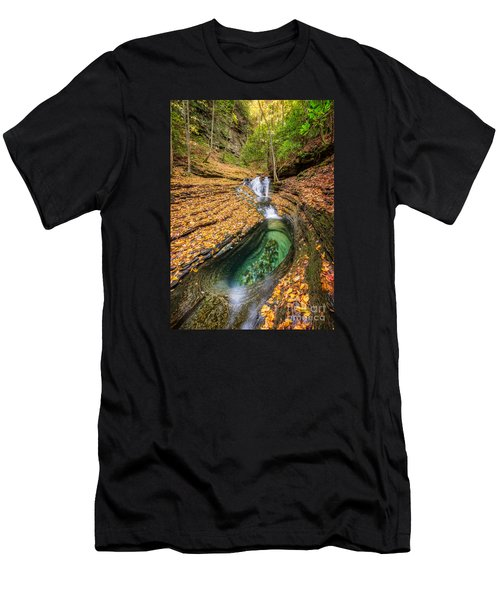 Devils Bathtub Autumn Men's T-Shirt (Athletic Fit)