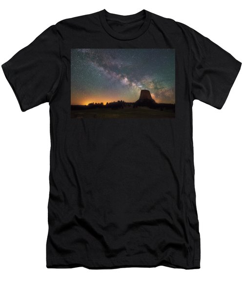 Men's T-Shirt (Athletic Fit) featuring the photograph Devils Night Watch by Darren White