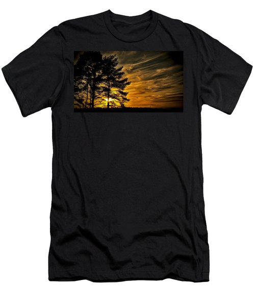 Devils Sunset Men's T-Shirt (Athletic Fit)