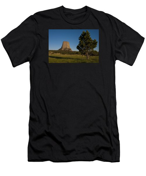 Devil's Tower Men's T-Shirt (Athletic Fit)