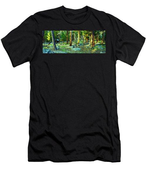 Devils Tower Morning Men's T-Shirt (Slim Fit) by Dave Luebbert