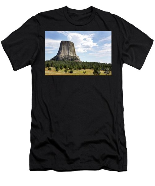 Devils Tower National Monument Men's T-Shirt (Athletic Fit)