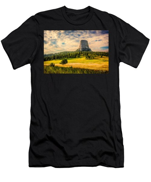 Devil's Tower - The Other Side Men's T-Shirt (Athletic Fit)