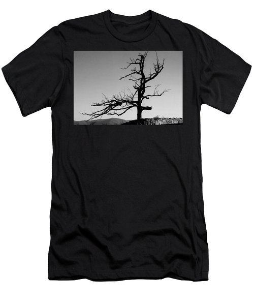 Devoid Of Life Tree Men's T-Shirt (Athletic Fit)