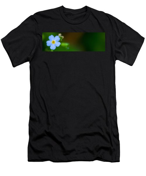 Dewy Blossom  Men's T-Shirt (Athletic Fit)