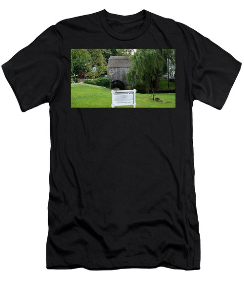 Dexter's Grist Mill Men's T-Shirt (Slim Fit) by Rod Jellison
