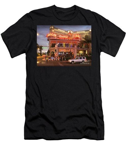 Diablo's Cantina In Las Vegas Men's T-Shirt (Slim Fit) by RicardMN Photography