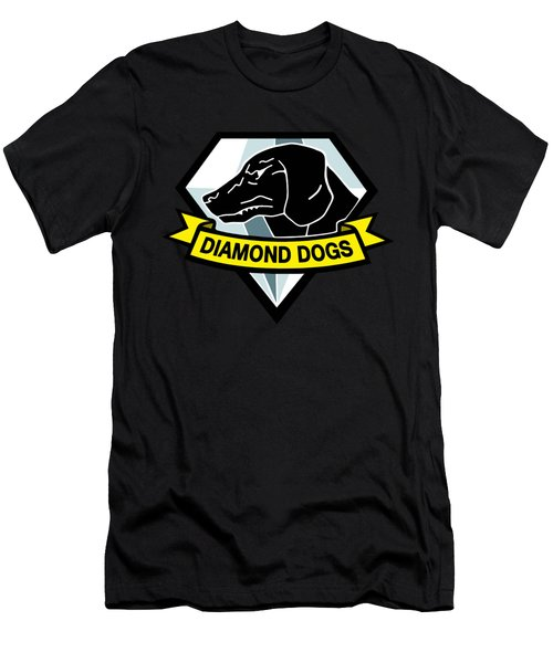 Diamond Dogs Men's T-Shirt (Athletic Fit)