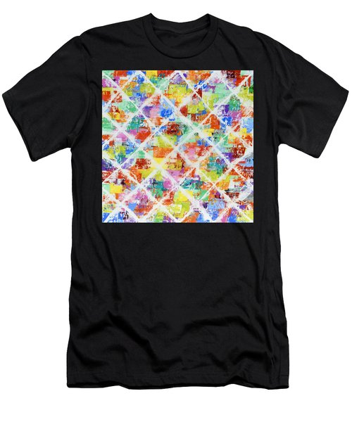 Diamonds Men's T-Shirt (Athletic Fit)
