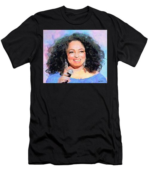 Diana Ross Men's T-Shirt (Athletic Fit)