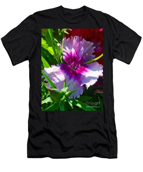 Dianthus Carnation Men's T-Shirt (Athletic Fit)