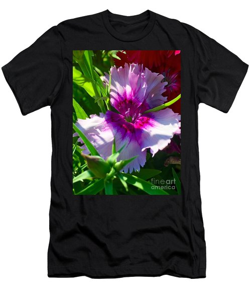 Dianthus Carnation Men's T-Shirt (Athletic Fit)