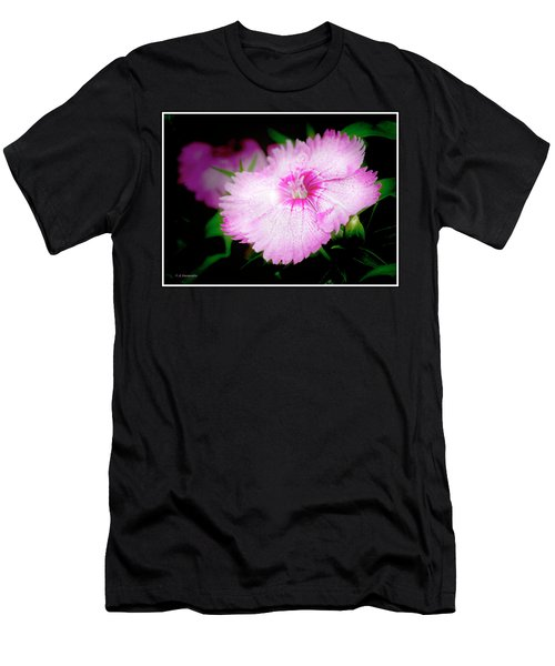 Dianthus Flower Men's T-Shirt (Athletic Fit)