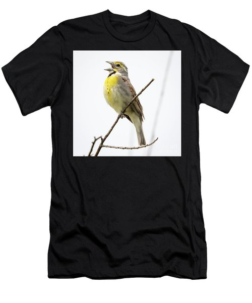 Dickcissel  Men's T-Shirt (Athletic Fit)