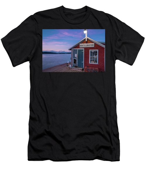 Dicks Lobsters - Crabs Shack In Maine Men's T-Shirt (Athletic Fit)