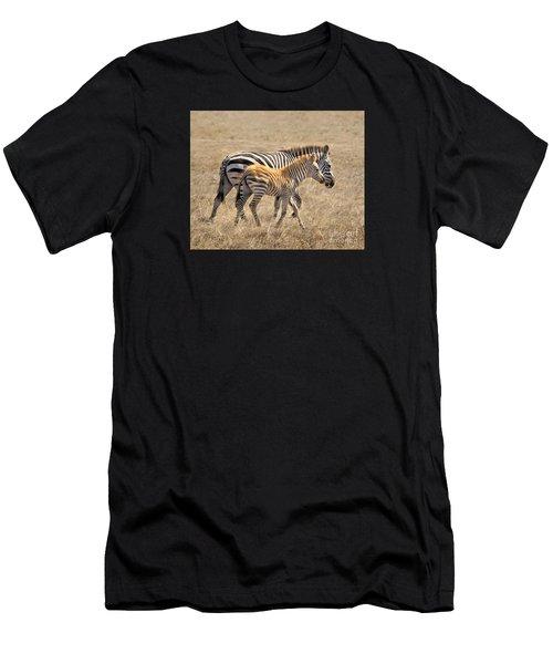 Different Stripes Men's T-Shirt (Athletic Fit)