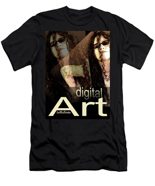 Digital Art Poster Men's T-Shirt (Athletic Fit)