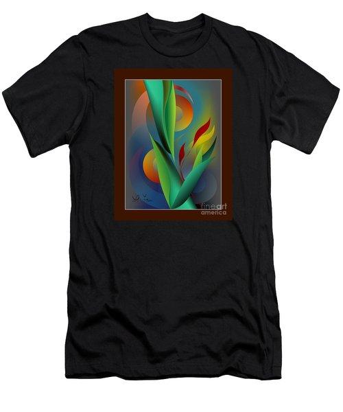Digital Garden Dreaming Men's T-Shirt (Athletic Fit)