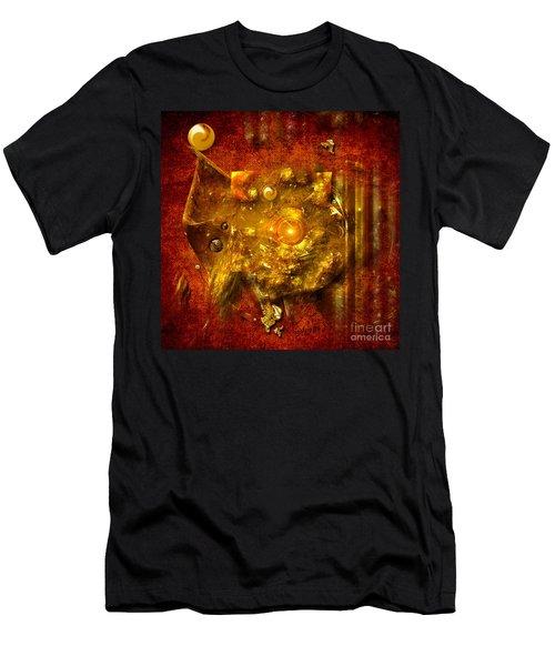 Dimension Hole Men's T-Shirt (Athletic Fit)