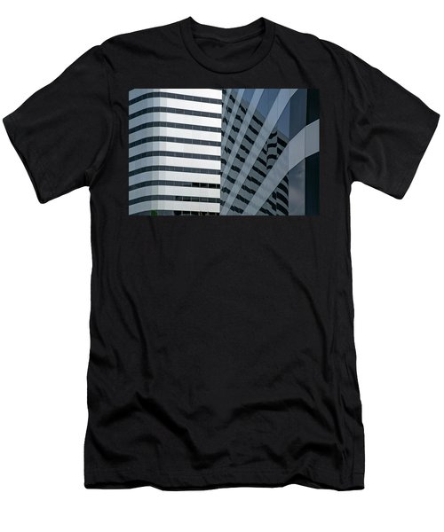 Men's T-Shirt (Slim Fit) featuring the photograph Dimensions by Elvira Butler